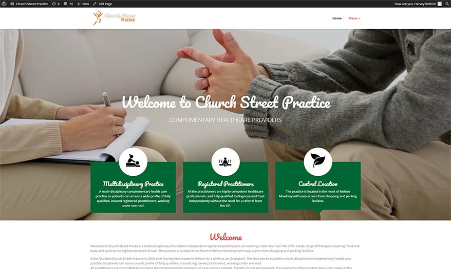Church Street Practice Website