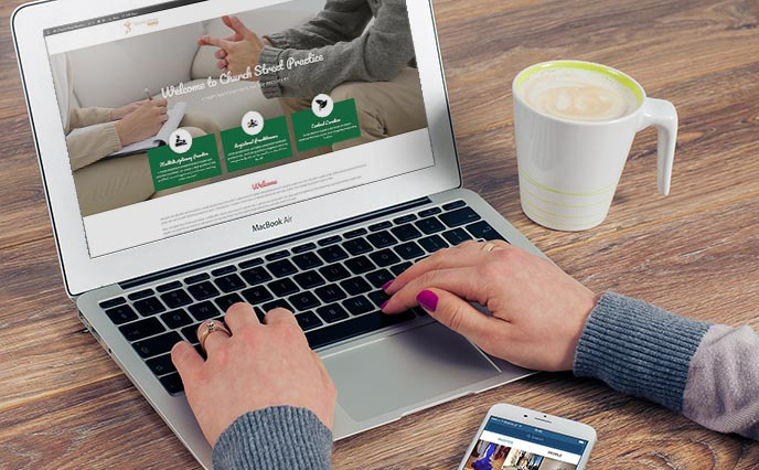 Website Design and Management at Mark1 ITS